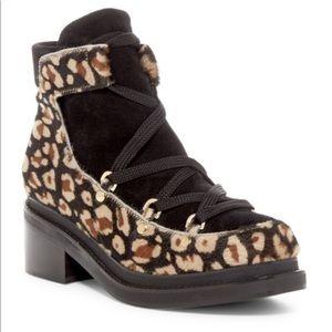 Miista Kristanna Camel Pony Boots